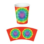 Beistle Tie-Dyed Beverage Cup, 9 oz., 24/Pack