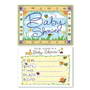 "Beistle B Is For Baby Invitations, 4"" x 5 1/2"""