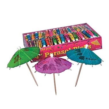 Beistle Boxed Party Parasol Picks, 4