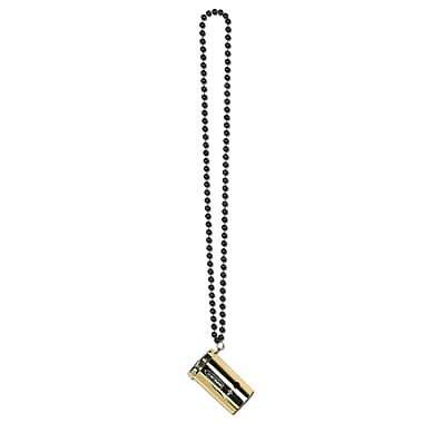 Black & Gold Beads With Metallic Sonic Blaster, 36