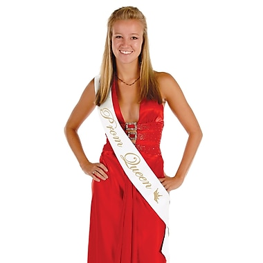 Prom Queen Satin Sash, 33