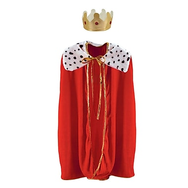 Child King/Queen Robe With Crown, 33