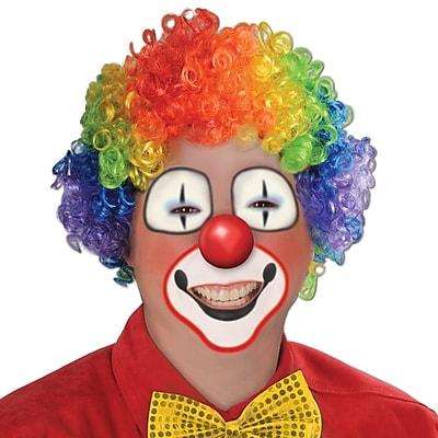 Beistle Adjustable Clown Wig, Rainbow
