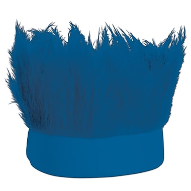 Blue Hairy Headband, One Size Fits Most, 3/Pack