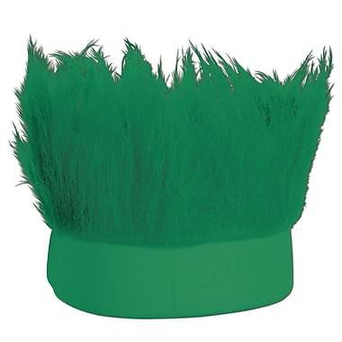 Green Hairy Headband, One Size Fits Most, 3/Pack