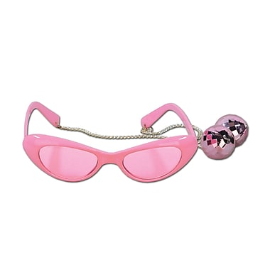 Disco Ball Fanci-Frames, One Size Fits Most, Pink, 2/Pack