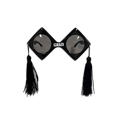 Lunettes de diplômé Fanci-Frames, taille unique, noir, paquet de 2