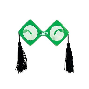 Lunettes de diplômé Fanci-Frames, taille unique, vert, paquet de 2