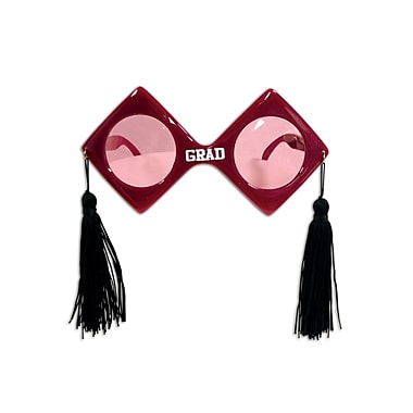 Grad Fanci-Frames, One Size Fits Most, Maroon, 2/Pack