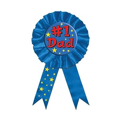 Ruban #1 Dad, 3 3/4 x 6 1/2 po, 3/paquet