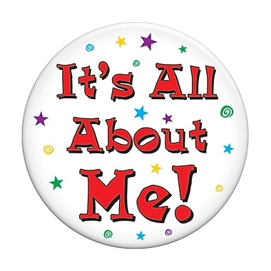 It's All About Me Button, 3-1/2
