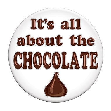 It's All About The Chocolate Button, 3-1/2