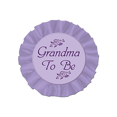 Grandma To Be Satin Button, 3-1/2