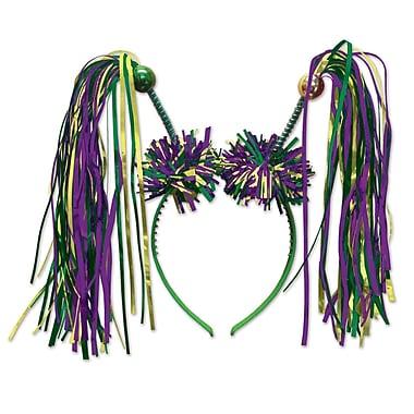 Beistle Adjustable Firework Boppers, Green/Gold/Purple