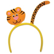 Beistle Adjustable Tiger Headband