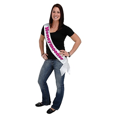 Honeymooner Satin Sash, 33