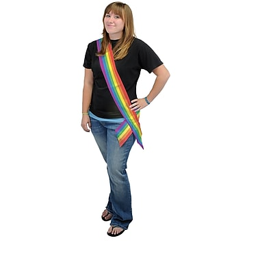 Rainbow Satin Sash, 33