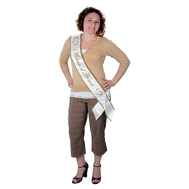 Matron Of Honor Satin Sash, 33