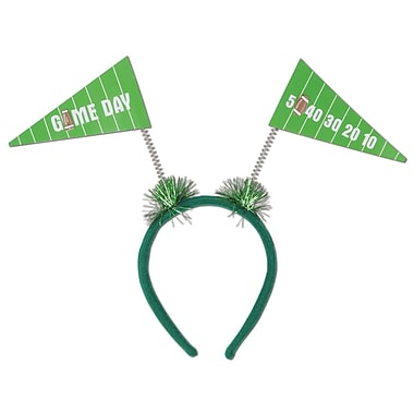 Beistle Game Day Pennant Flag Boppers, Green