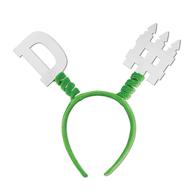 Beistle Adjustable D-Fence Boppers, Green/White