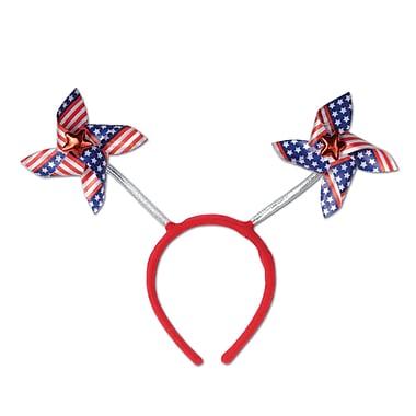 Beistle Adjustable Patriotic Pinwheel Boppers