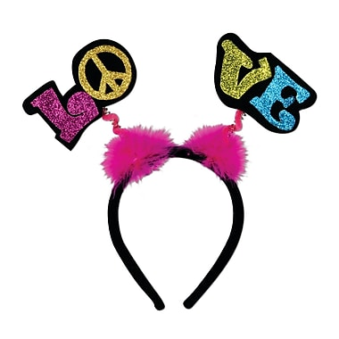 Glittered Love Boppers, One Size Fits Most, 3/Pack