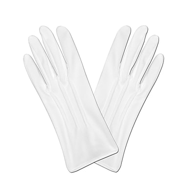 Theatrical Deluxe Gloves, One Size Fits Most, White, 3 Pair