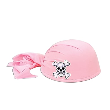 Pirate Scarf Hat, Pink, 3/Pack