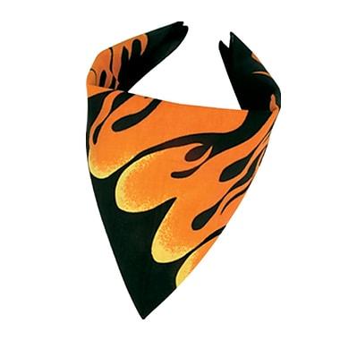 Bandana à flammes, 22 x 22 po, 5/paquet