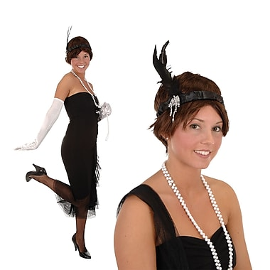 Flapper Headband, One Size Fits Most, 3/Pack