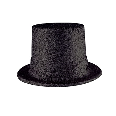 Glittered Top Hat, One Size Fits Most, 2/Pack