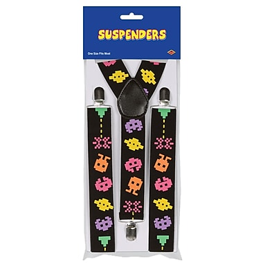 Arcade Suspenders, One Size Fits Most, 2/Pack