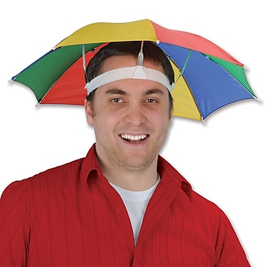 Umbrella Hat, One Size Fits Most, 3/Pack