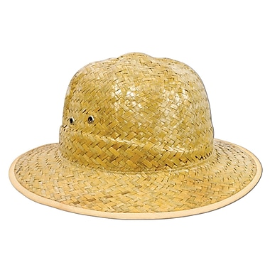 Safari Straw Hat, One Size Fits Most, 2/Pack