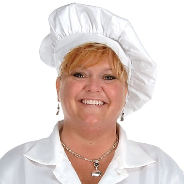 Oversized Fabric Chef's Hat, One Size Fits Most, 2/Pack