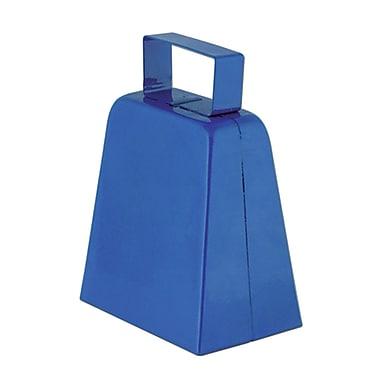 Cloches à vache bleues, 4 po, paquet de 12