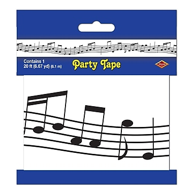 Musical Notes Party Tape, 3