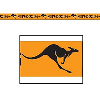 Kangaroo Crossing Poly Decorating Material, 3