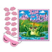 "Kiss The Frog Party Game, 17-1/2"" x 19-1/2"", 7/Pack"