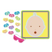 "Pin The Pacifier Baby Shower Game, 17-1/2"" x 19-1/2"", 7/Pack"