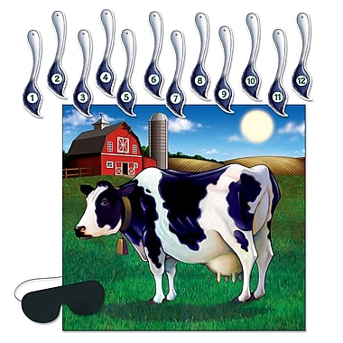 Pin The Tail On The Cow Game, 17