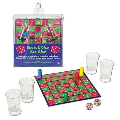 Beistle Shots & Dice Are Nice Drinking Game