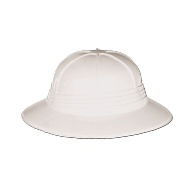 Plastic Sun Helmet, One Size Fits Most, 8/Pack