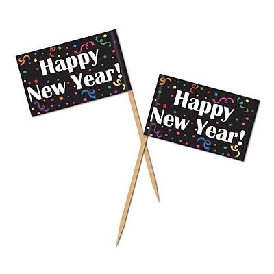 Beistle Happy New Year Picks, 2 1/2