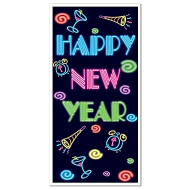 Happy New Year Door Cover, 30