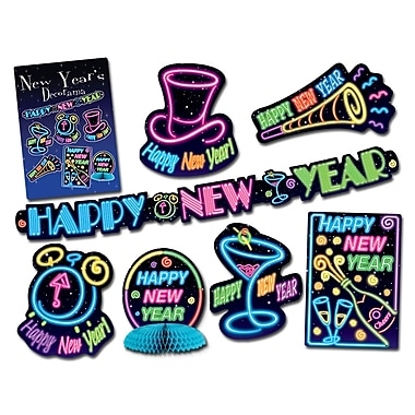 New Year Decorama, 14 Assorted Decorations