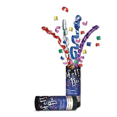 New Year Confetti Bursts, Multi-Colour, 24/Pack