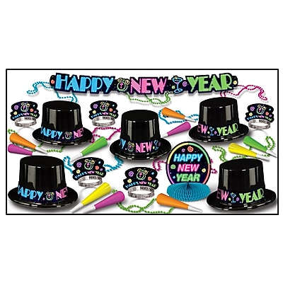 Beistle Neon Party Assortment For 10 People