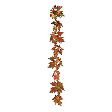 Guirlande de feuilles prismatiques 3 dimensions Gleam 'N Garland, 21 po, 8/paquet