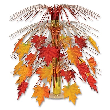 Fabric Fall Leaves Cascade Centerpiece, 18